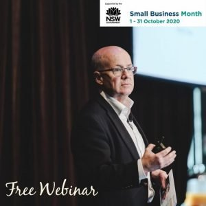 Webinar for NSW Small business month