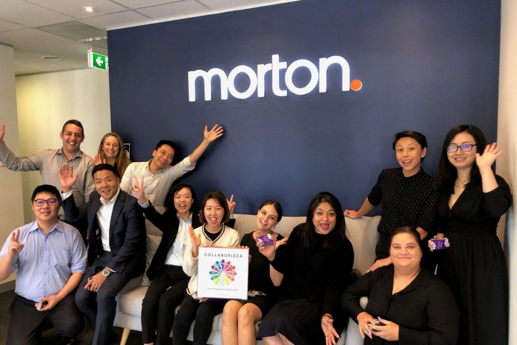 Collaborizza at Mortons