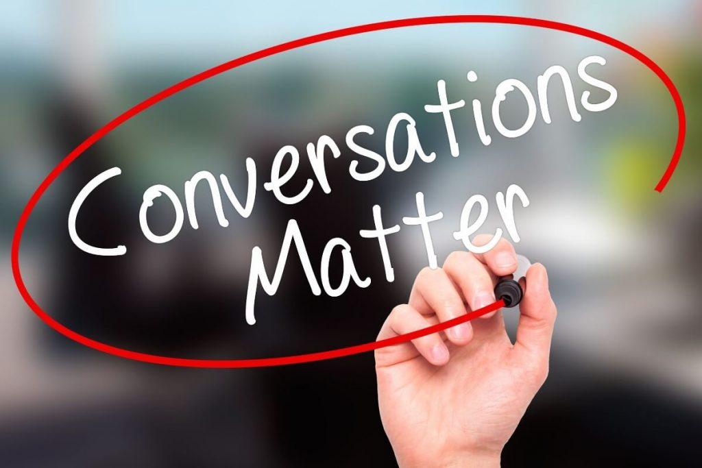 Image Conversations Matter 8x12