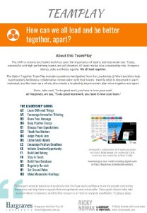 Leadership Teamplay